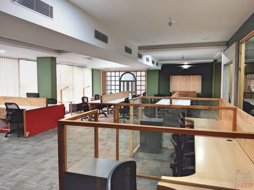 30 seaters Open Desk Bangalore Kalyan Nagar bubblespace-co-working