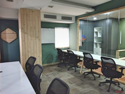 7 seaters Private Room Bangalore Kalyan Nagar bubblespace-co-working