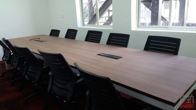 10 seaters Meeting Room Bangalore Residency Road business-hut