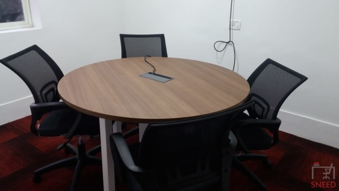 5 seaters Meeting Room Bangalore Residency Road business-hut