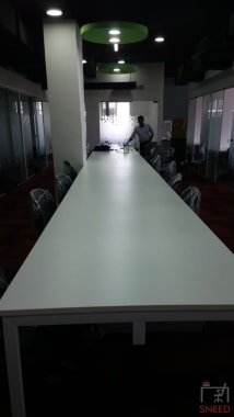 17 seaters Open Desk Bangalore Residency Road business-hut