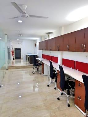 12 seaters Open Desk New Delhi Okhla Industiral Area, Phase-1 tejas-enterprise