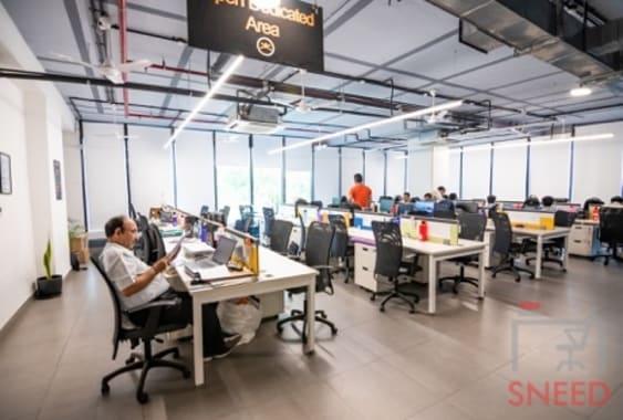 100 seaters Open Desk Mumbai Andheri East 91springboard-lotus