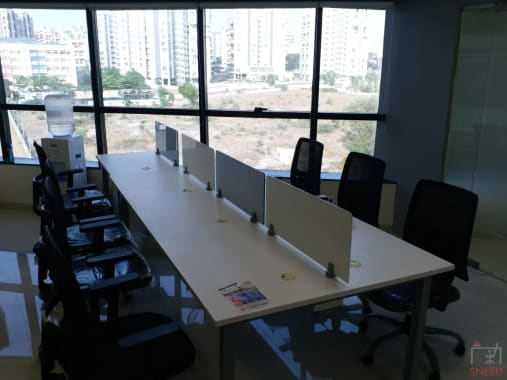 16 seaters Open Desk Pune Kharadi myspace-kharadi