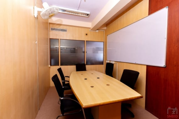 8 seaters Meeting Room Bangalore HSR workvista-coworks