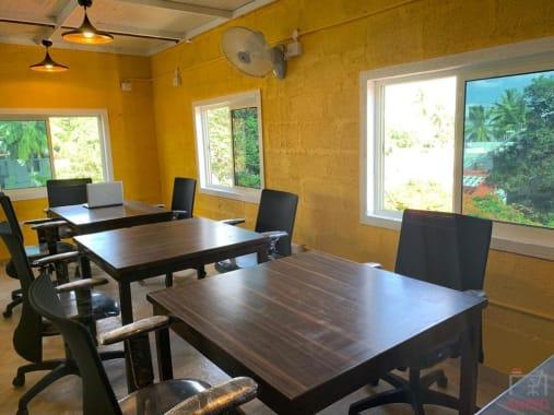 10 seaters Open Desk Bangalore Indiranagar cupshup-cafe