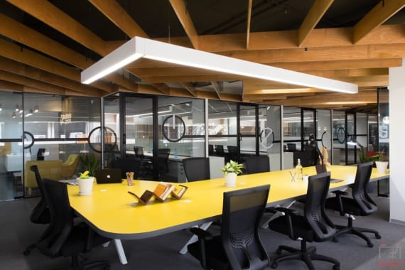 40 seaters Open Desk Bangalore Whitefield goodworks-cowork