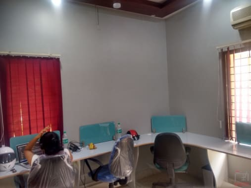 7 seaters Open Desk Bangalore Jeevanbhima Nagar dreamz-cowork