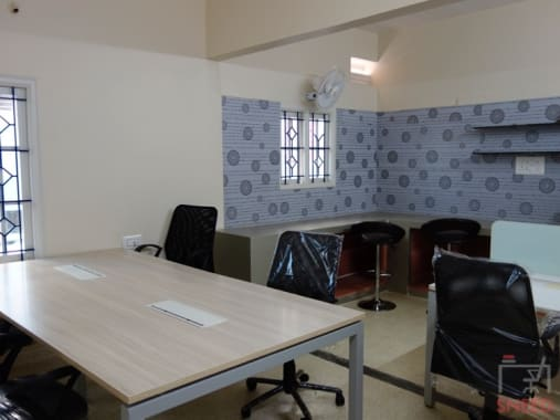 8 seaters Private Room Bangalore BTM vybrant-coworks-