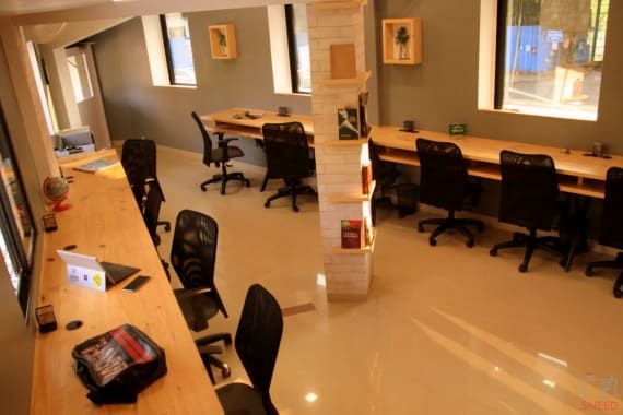 15 seaters Open Desk Pune Baner the-third-space