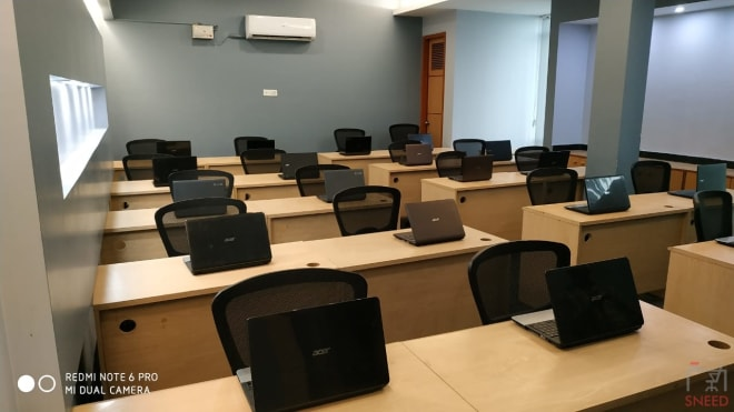 20 seaters Training Room Noida Sector 59 professional-cert