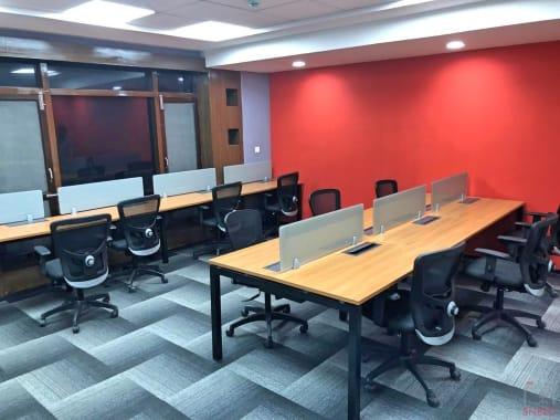 70 seaters Open Desk Bangalore Koramangala obeya-elan