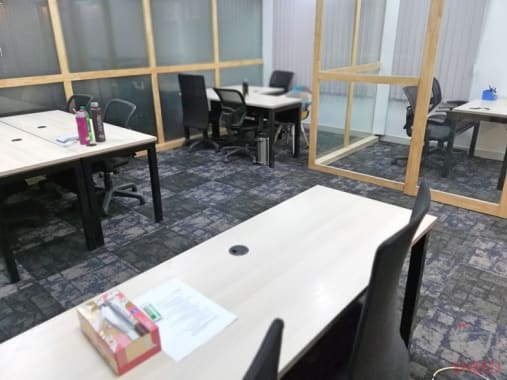 3 seaters Open Desk Bangalore HSR obeya-verve