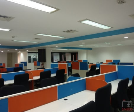 100 seaters Open Desk Bangalore Residency Road startuphuts-#cbd