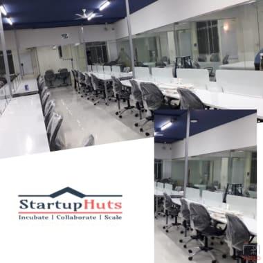 300 seaters Open Desk Bangalore HSR startuphuts-#483