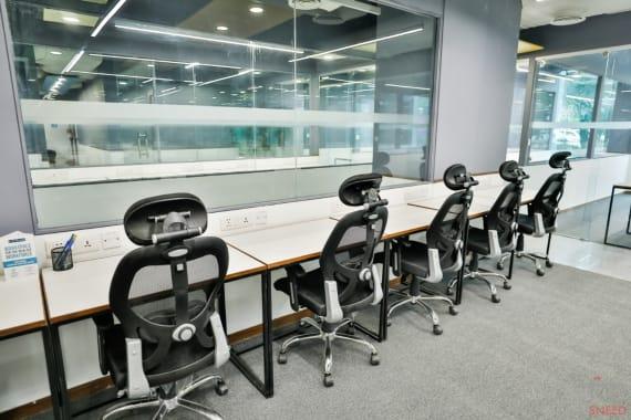 16 seaters Open Desk Gurgaon DLF Cyber City abl-workspaces-cyber-hub