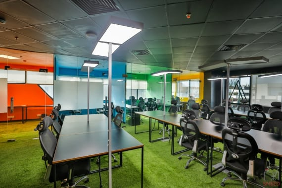 50 seaters Open Desk Gurgaon Sector 44 abl-workspaces-sector-44