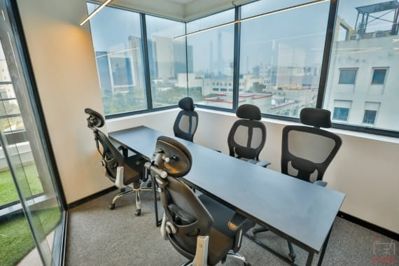 6 seaters Meeting Room Gurgaon Sector 44 abl-workspaces-sector-44