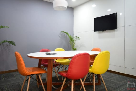 8 seaters Meeting Room New Delhi Okhla abl-workspaces-okhla