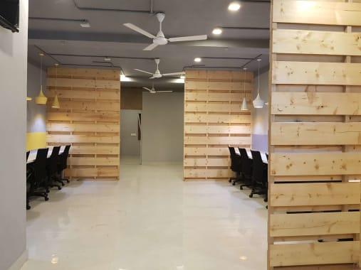 60 seaters Open Desk New Delhi Saket krastay-cowork
