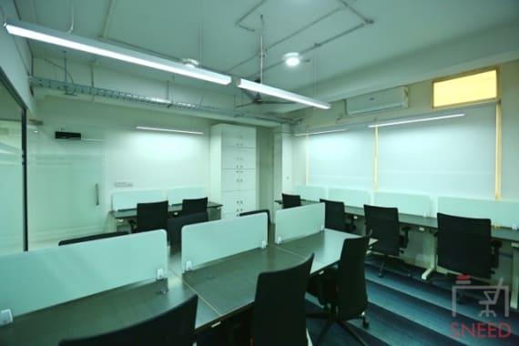 21 seaters Open Desk Bangalore Domlur goworkzone