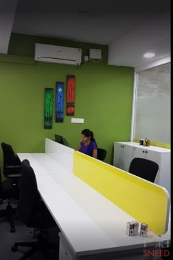 25 seaters Open Desk Bangalore Hennur ginger-cup