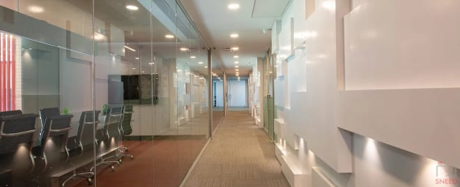 8 seaters Meeting Room Gurgaon Sector 39 smartworks-unitech