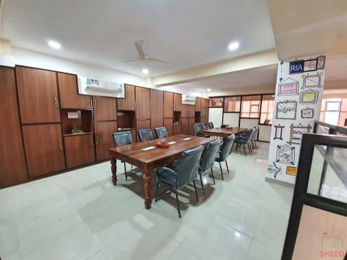 9 seaters Private Room Jaipur Vaishali Nagar cowocoli