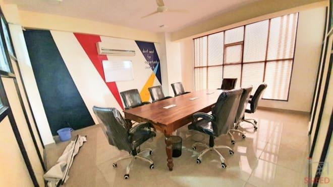 10 seaters Meeting Room Jaipur Vaishali Nagar cowocoli