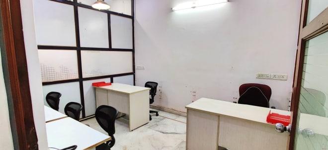 5 seaters Private Room New Delhi Kalkaji titech-flexi-office