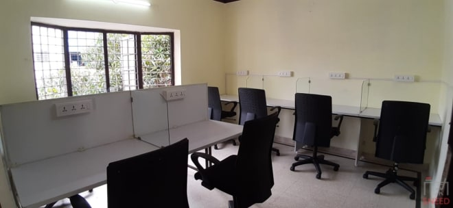 12 seaters Open Desk Bangalore Vijaynagar vr-workspace