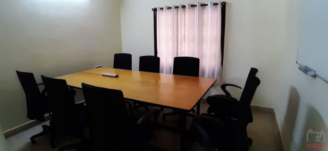 8 seaters Meeting Room Bangalore Vijaynagar vr-workspace