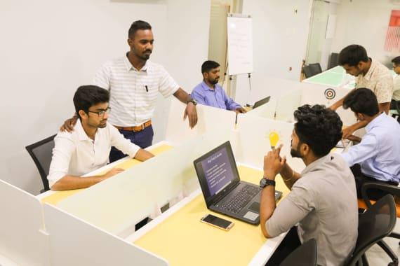 24 seaters Open Desk Bangalore Shantinagar bunchworks
