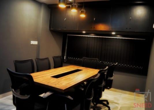 8 seaters Meeting Room Bhopal MP Nagar qubikals-coworking-space