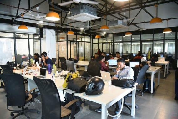 50 seaters Open Desk Hyderabad Hitech City 91springboard-hitec