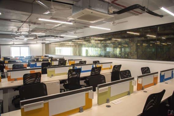 100 seaters Open Desk Hyderabad Gachibowli 91springboard-kondapur
