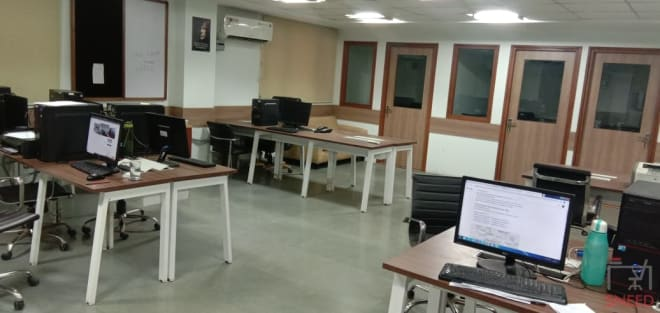 40 seaters Open Desk Noida Sector 67 forth-estate-shared-office