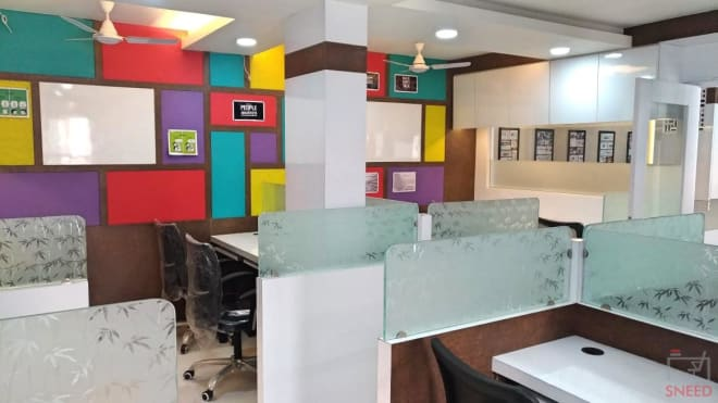 25 seaters Open Desk Indore South Tukoganj span-coworking