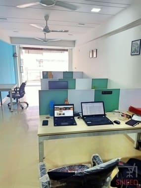 8 seaters Open Desk Ahmedabad South Bopal abs-cowork