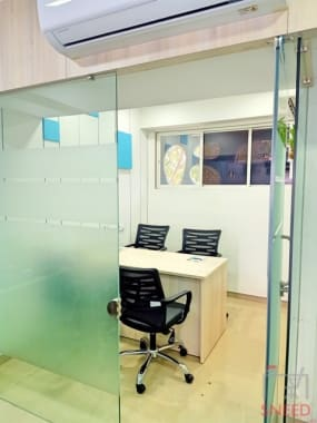 4 seaters Meeting Room Ahmedabad South Bopal abs-cowork