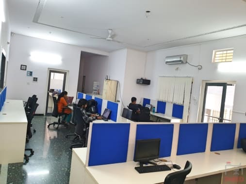 70 seaters Open Desk Bangalore HSR psquared
