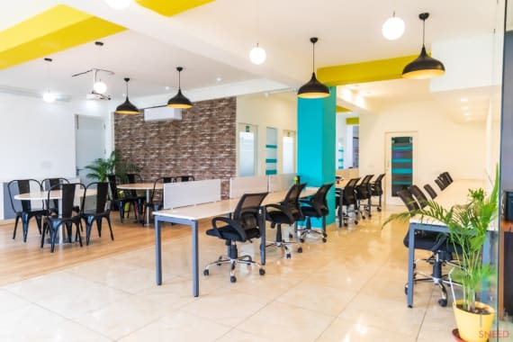25 seaters Open Desk New Delhi Janakpuri springhouse-janakpuri