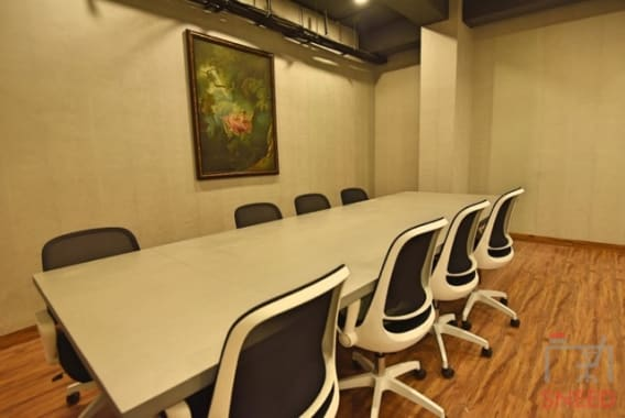 12 seaters Meeting Room Kolkata Park Street my-cube-park-street