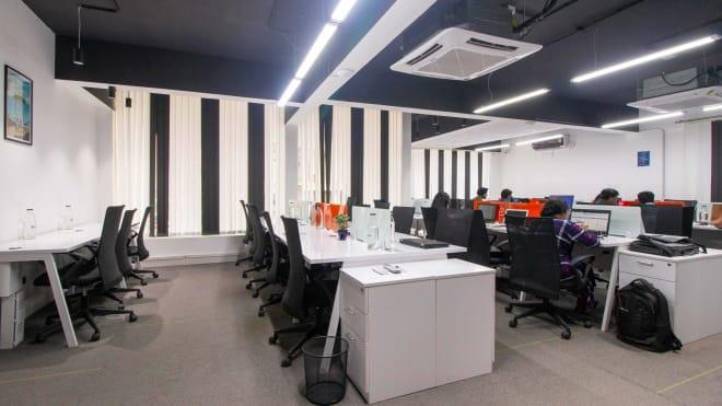 30 seaters Open Desk Bangalore HSR grexter-aquila