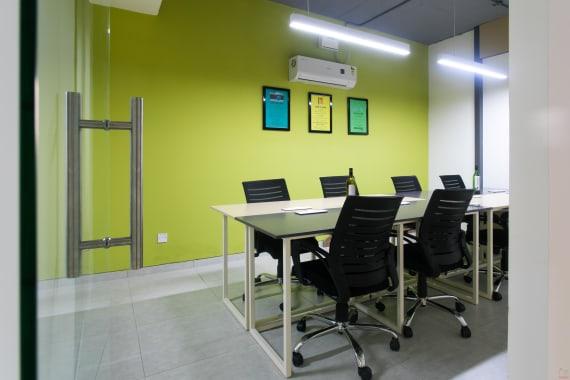 10 seaters Meeting Room Bangalore HSR workadda-hsr