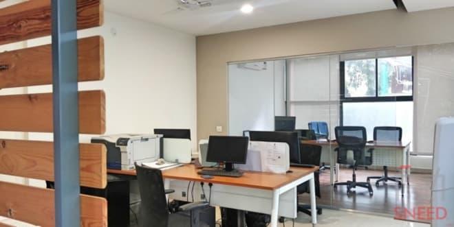 4 seaters Open Desk Bangalore Sanjay Nagar pristine-design-studio