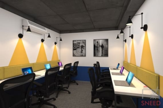 6 seaters Private Room New Delhi Connaught Place workingdom-cp