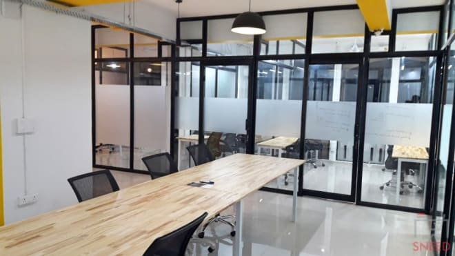 4 seaters Private Room Gurgaon DLF Phase 4 coworkinsta