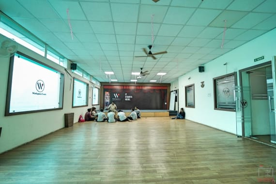 100 seaters Event Space Bhopal Maharana Pratap Nagar workspace.city