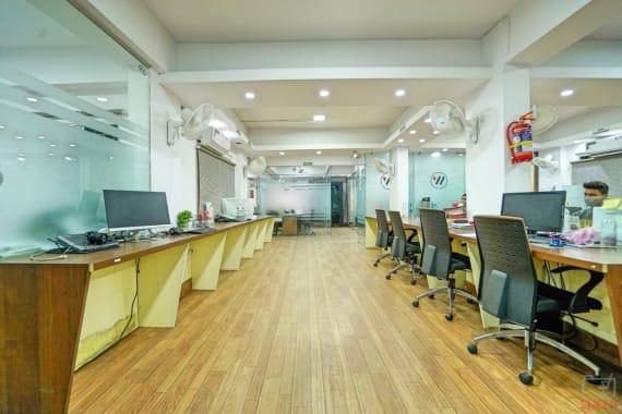 59 seaters Open Desk Bhopal Maharana Pratap Nagar workspace.city